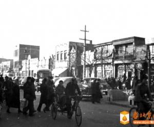 1956年东安门大街