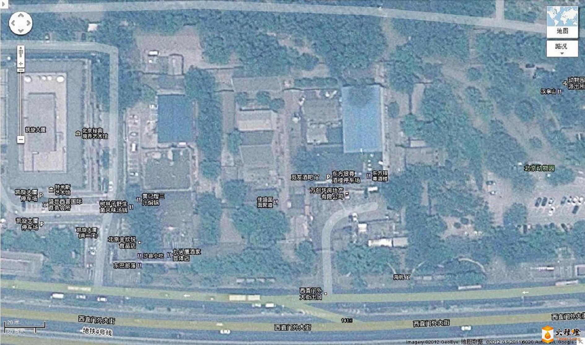 广善寺和惠安寺,位于今北京动物园东南角