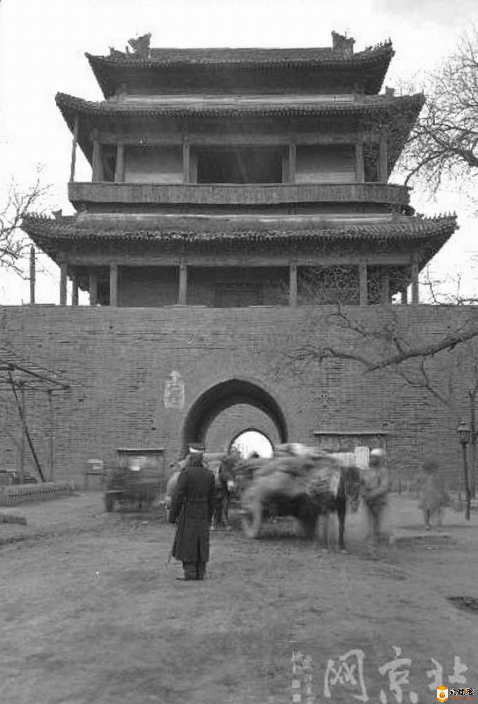 071.广安门-城楼       (1921-24年).jpg