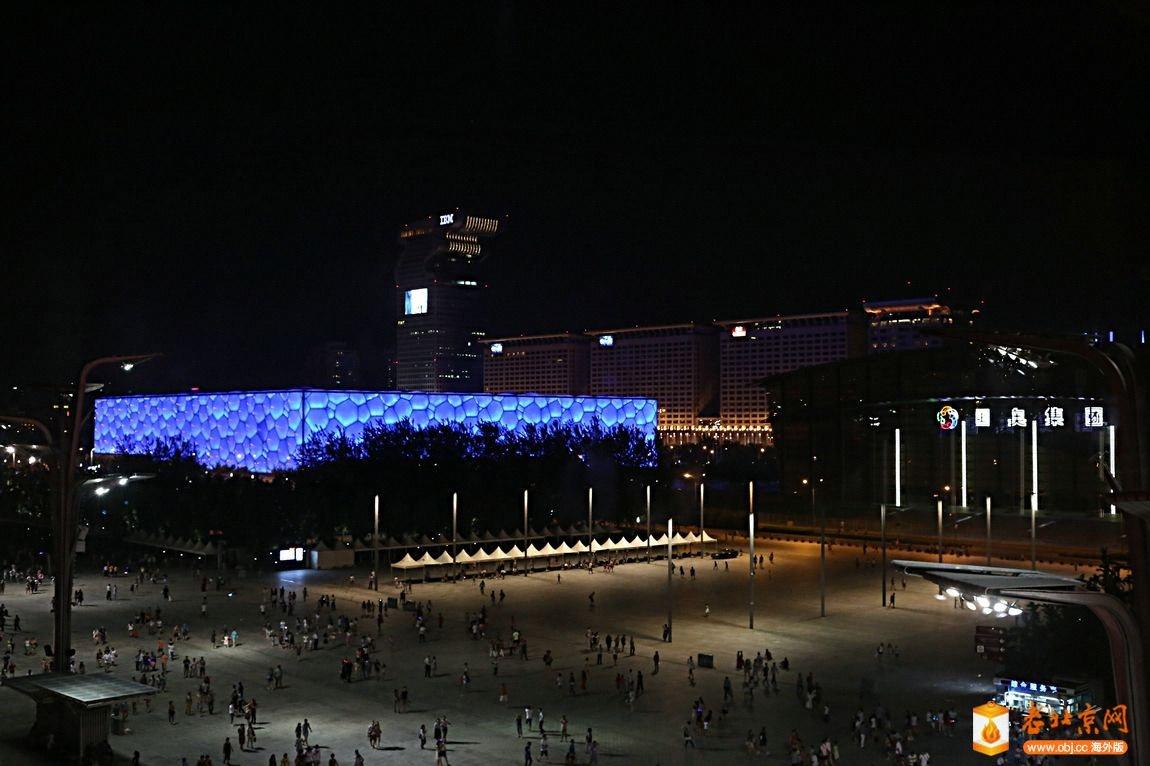 玲珑塔上俯瞰奥运村-图文拍记-服务器里的北京-老