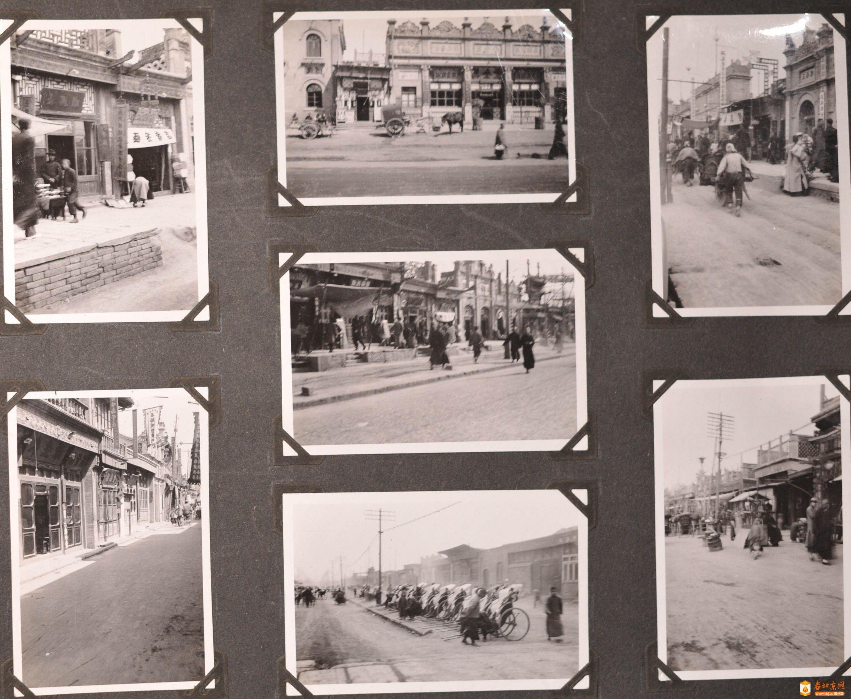 是不是1930年代的北京街道呀