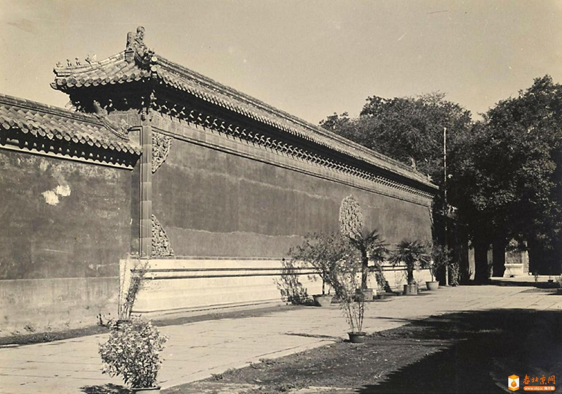 358.西苑门影壁-1      (1933-46年).jpg