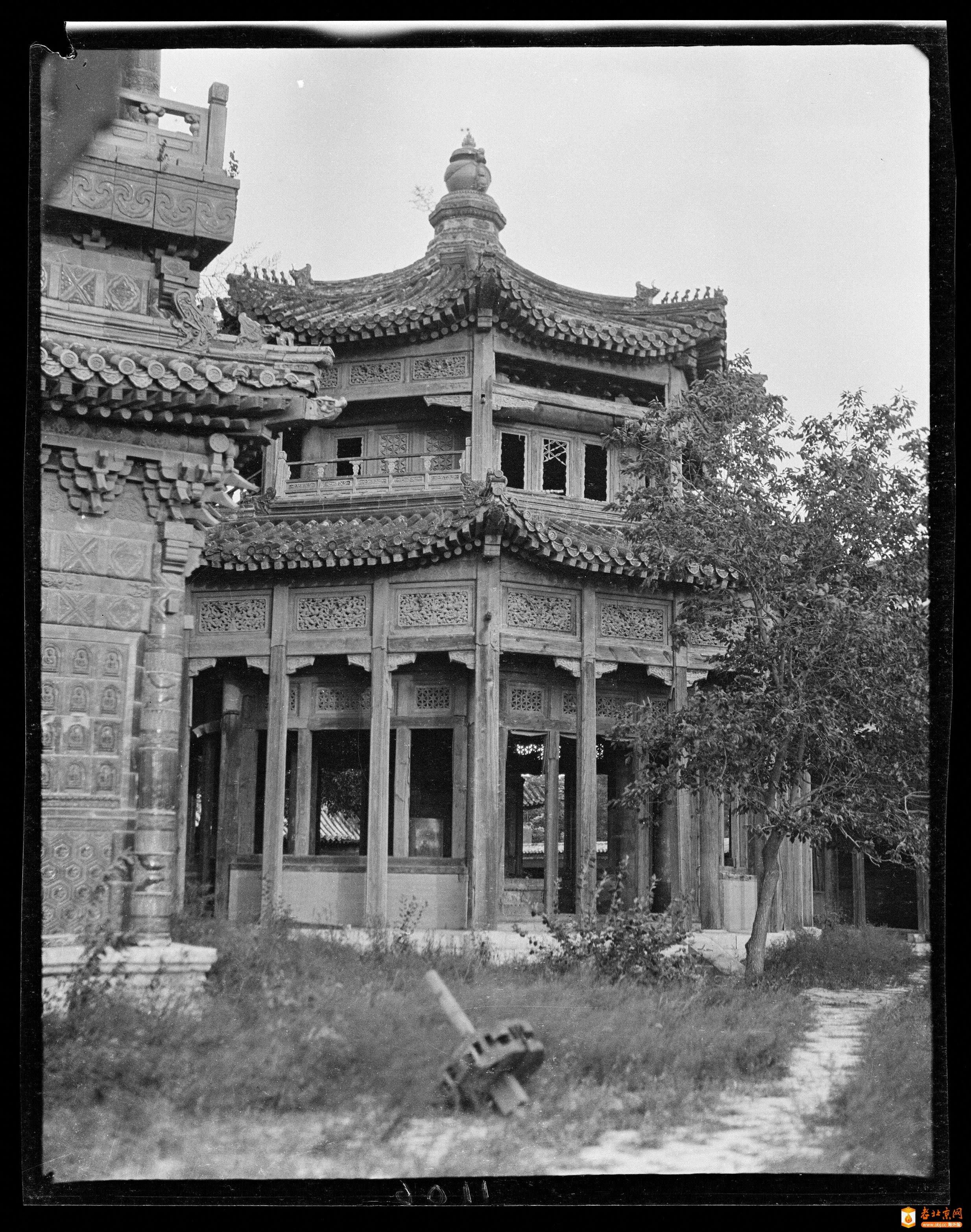编号198A_1106             北海-七佛塔亭     (1918年).jpg
