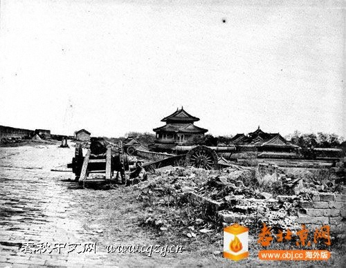 城墙上的清军大炮    (1860.10.21.).jpg