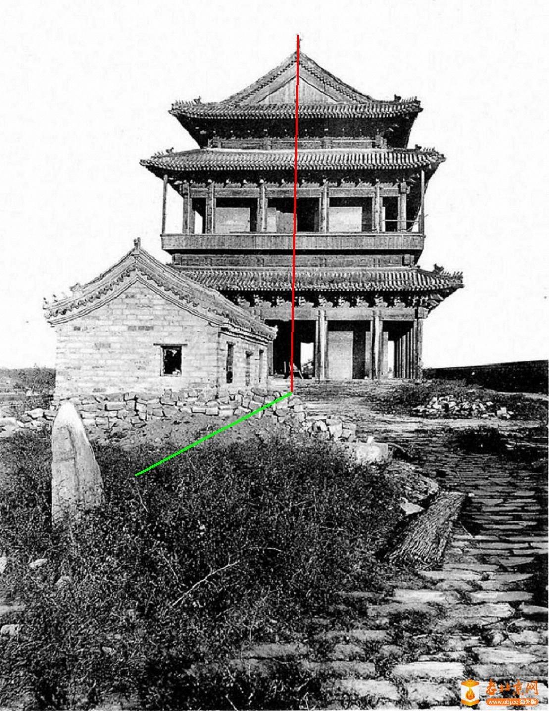 崇文门-城楼      (1900年).jpg