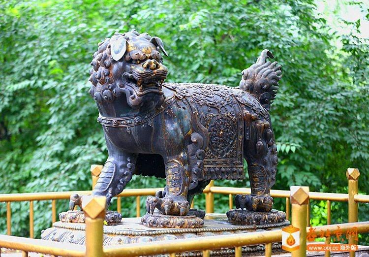 西城瑰宝-动物园铜狮.JPG
