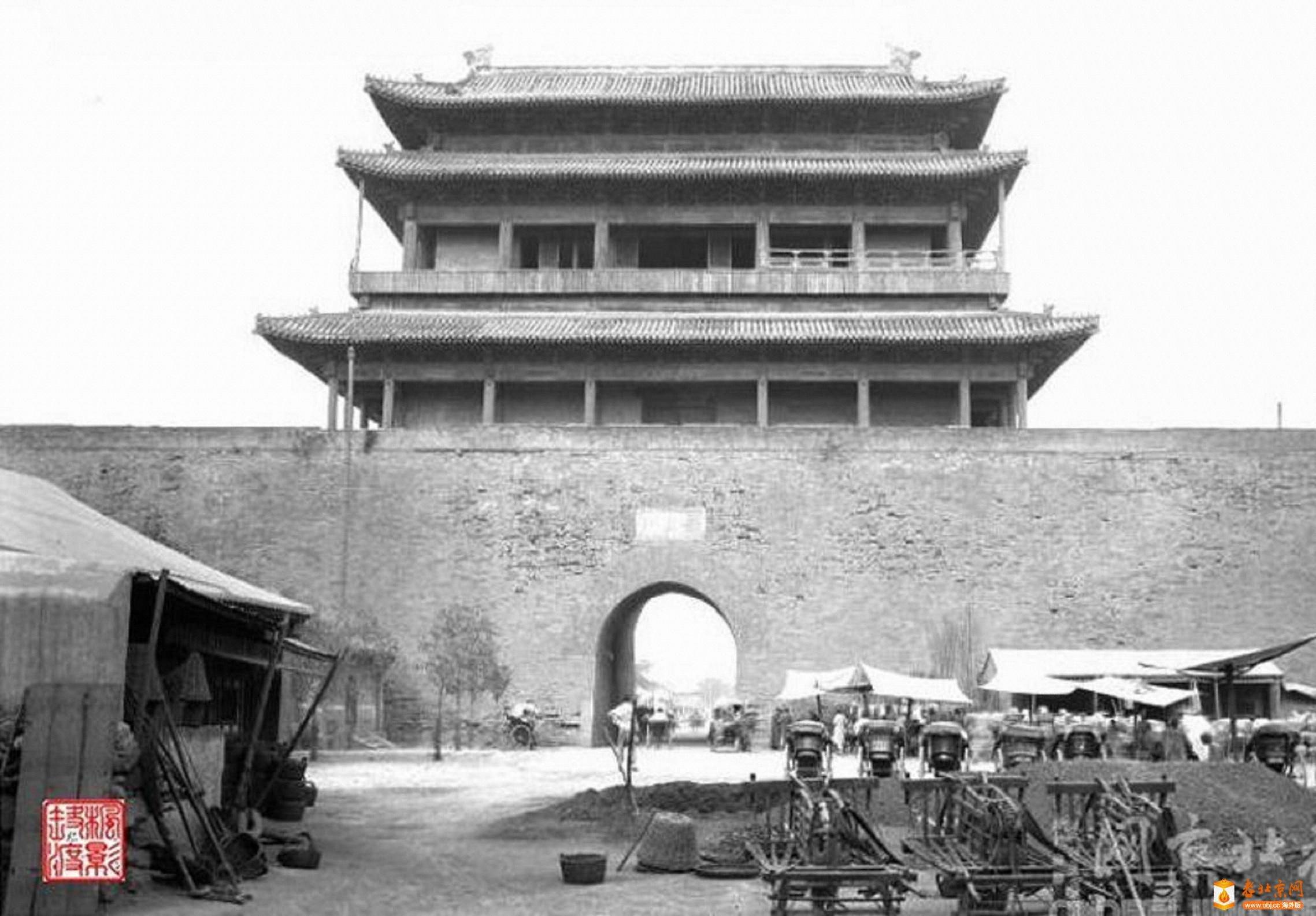 650.西直门-城楼      (1921-24年).jpg