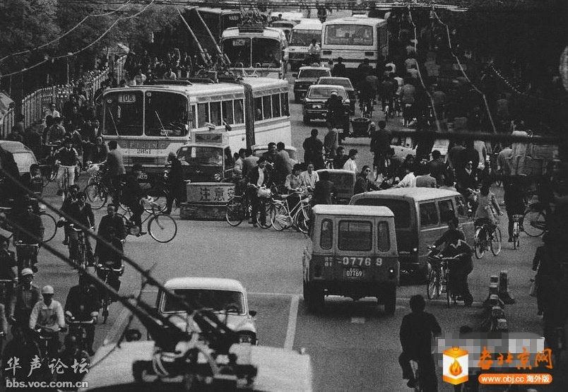 1979年11月,北京的西单路口