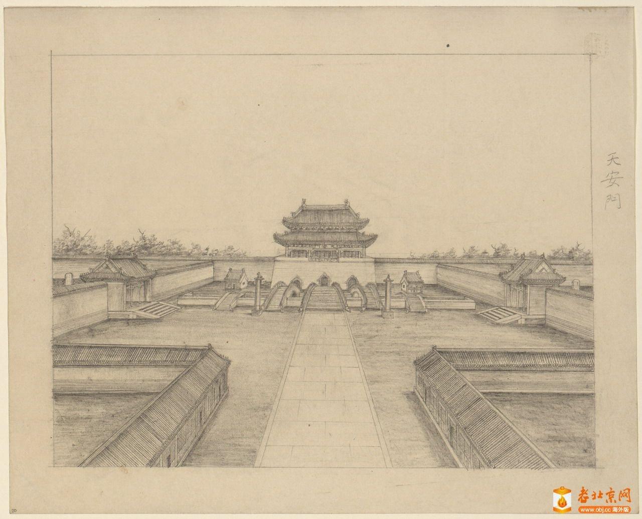 老北京的鉛筆畫 61  ypdoo