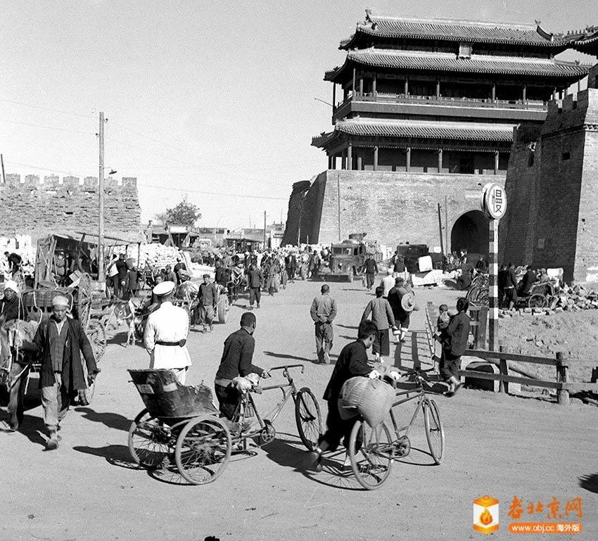 六十年代的老北京城门-图说-老北京