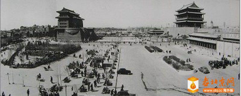 1958正阳门全景.jpg