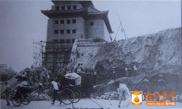 1915年6月26日箭楼东面工程情景.JPG