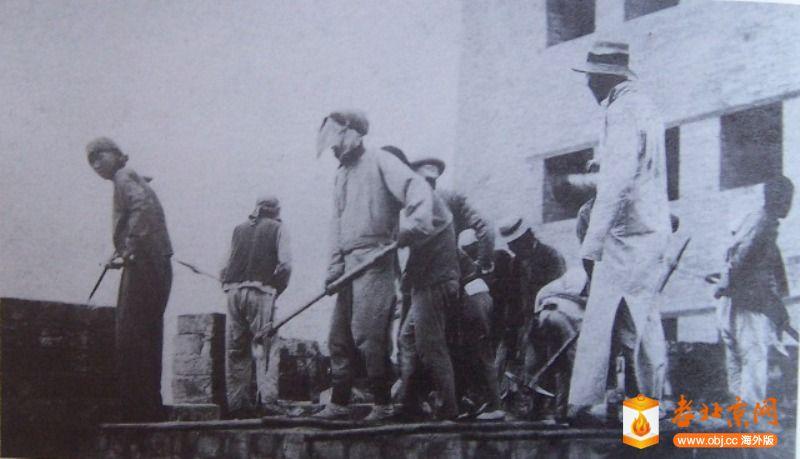 1915年前门箭楼工程动工.JPG
