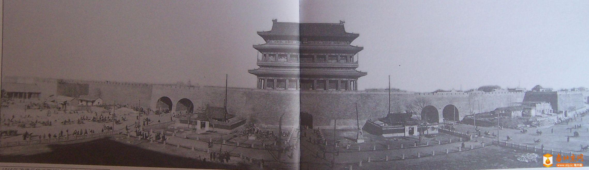 1915年改建完的正阳门全景.JPG