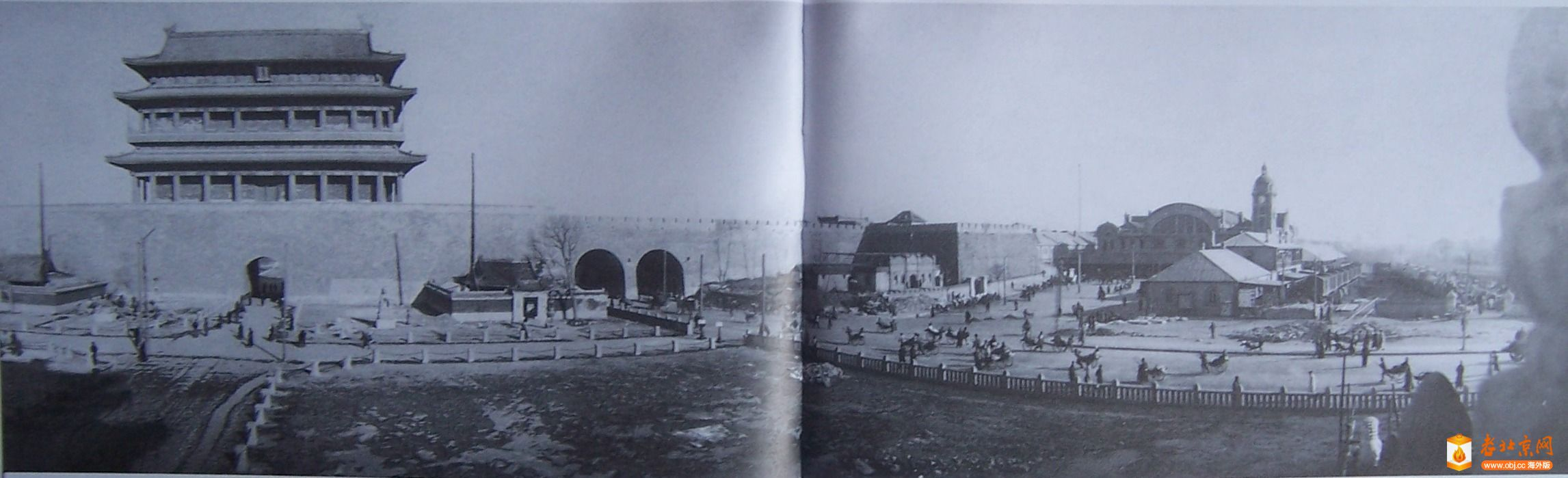 1915年正阳门外东面马路工程竣工.JPG