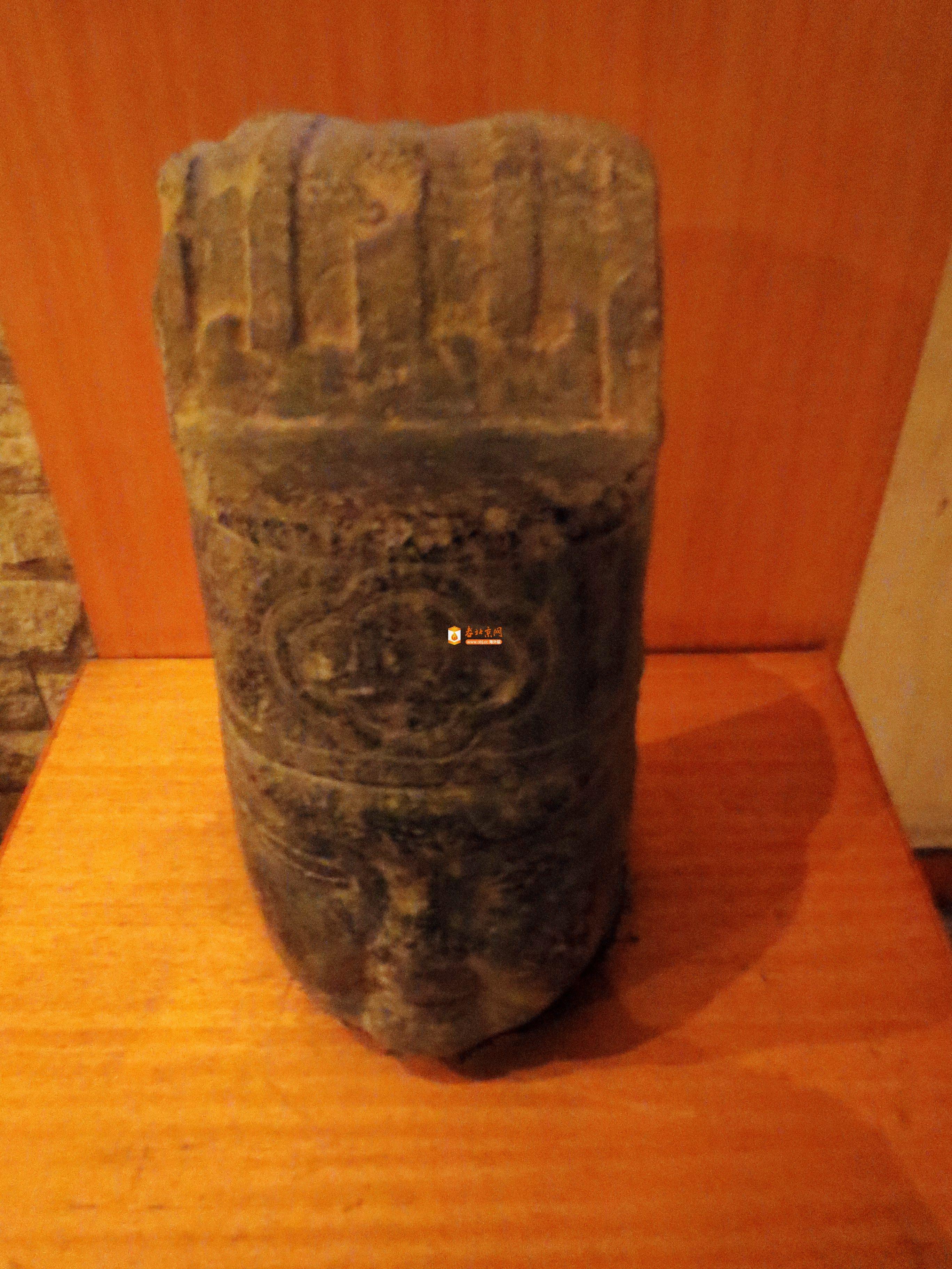 河南巩义博物馆收藏的宋陵石像生头像