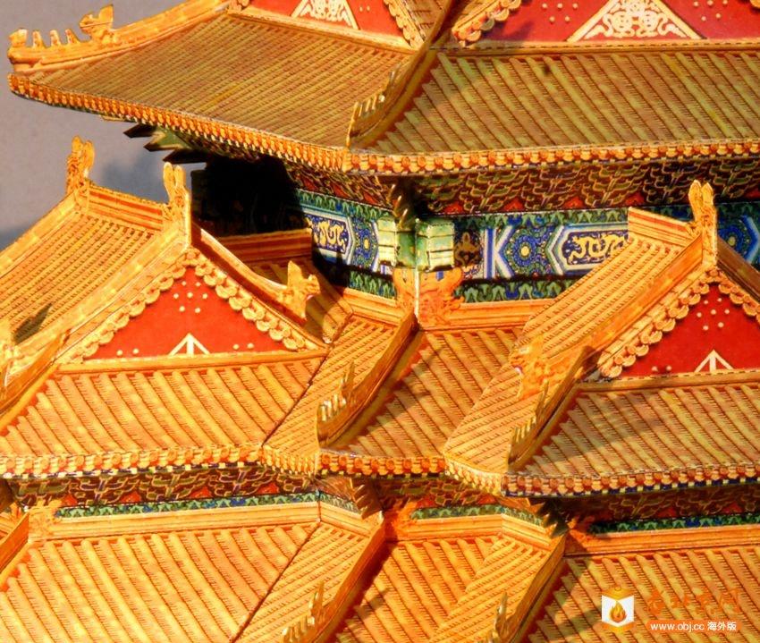 纸模型-文化遗产保护-服务器里的北京-老网