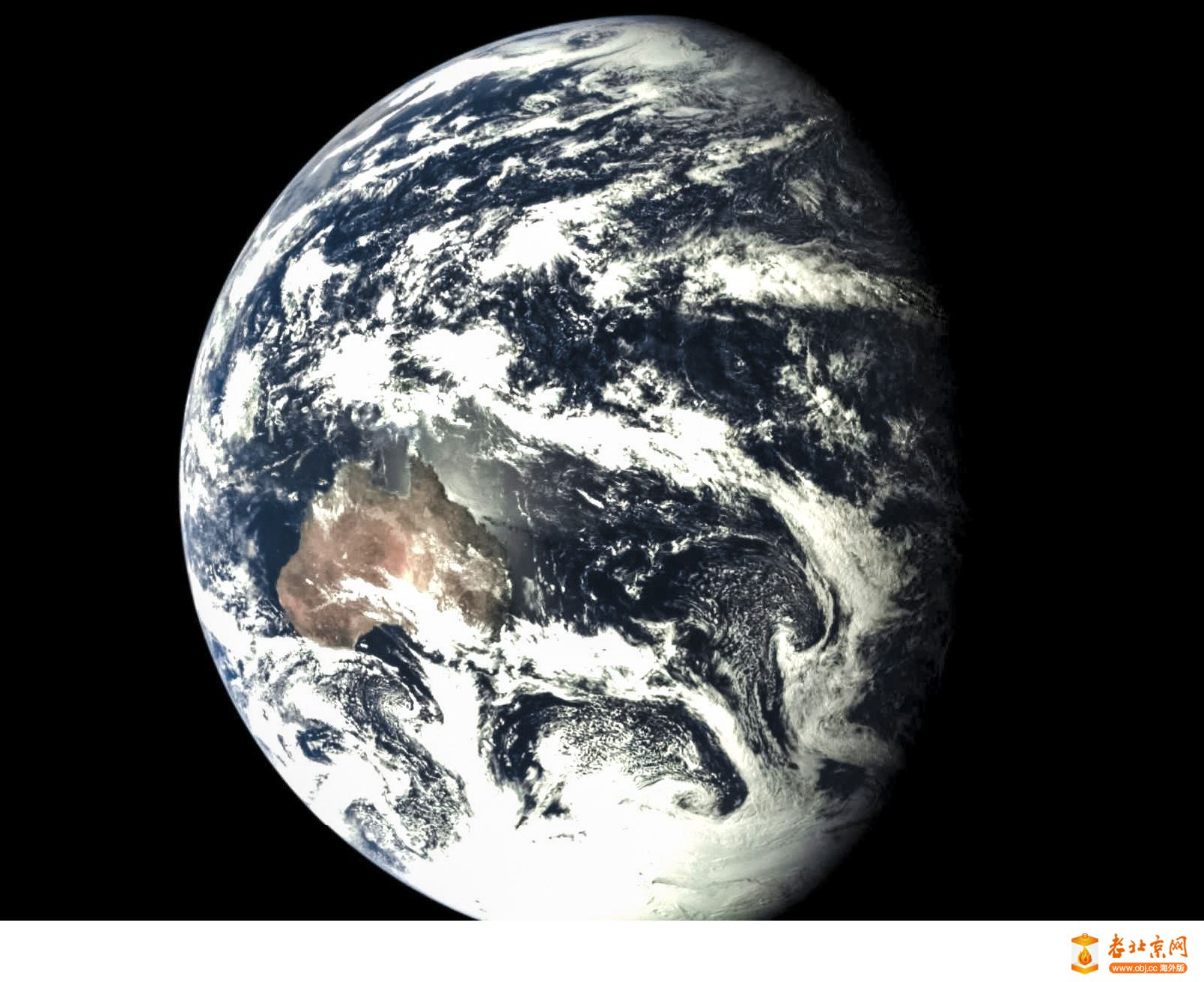 地月雙輝  A incredible picture of Earth and Moon together