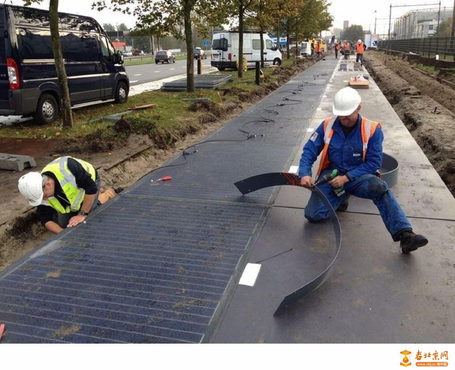 太阳能自行车道 Solar Bike Paths