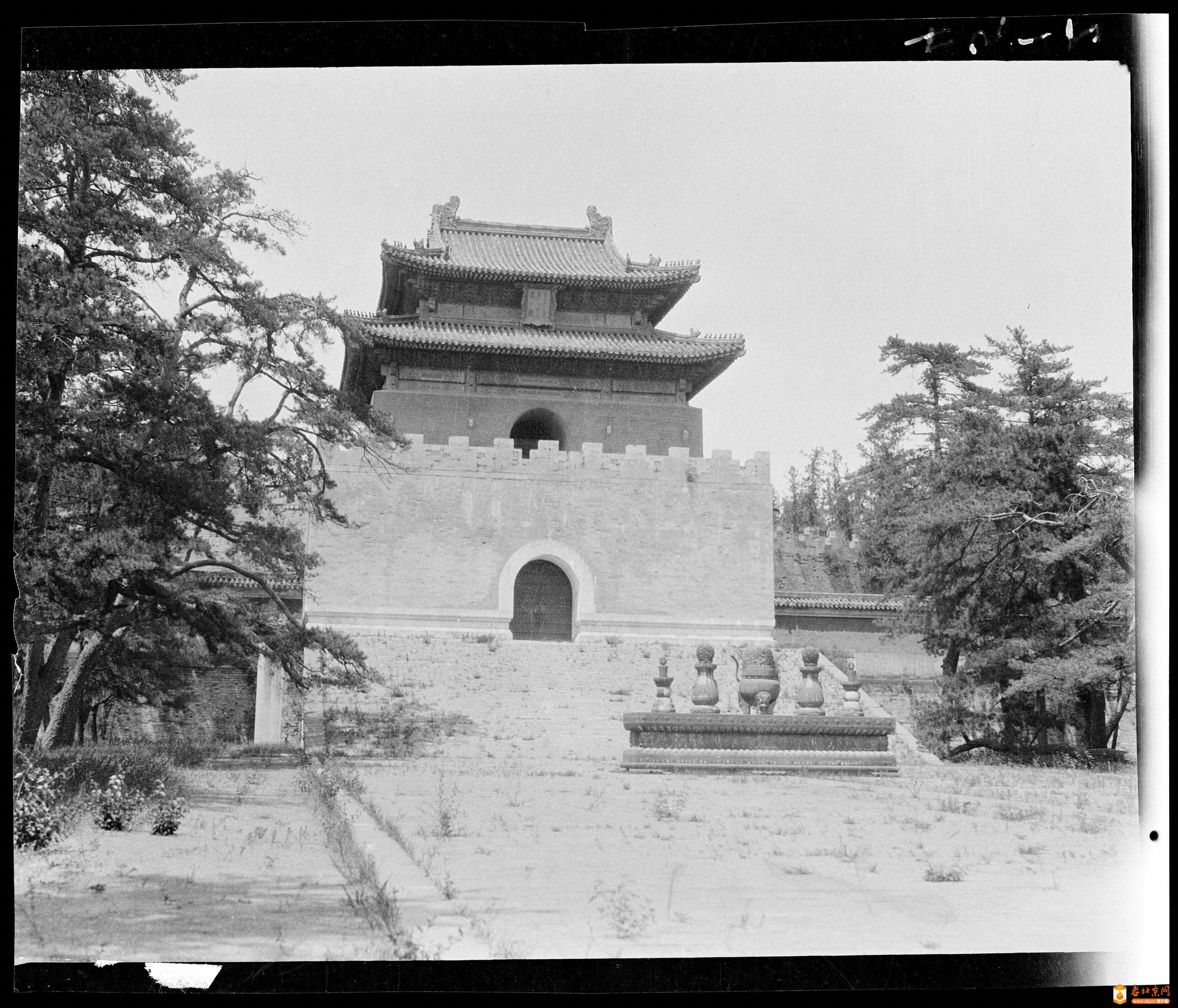 195.五供·方城·明楼   (1924年)_2.jpg
