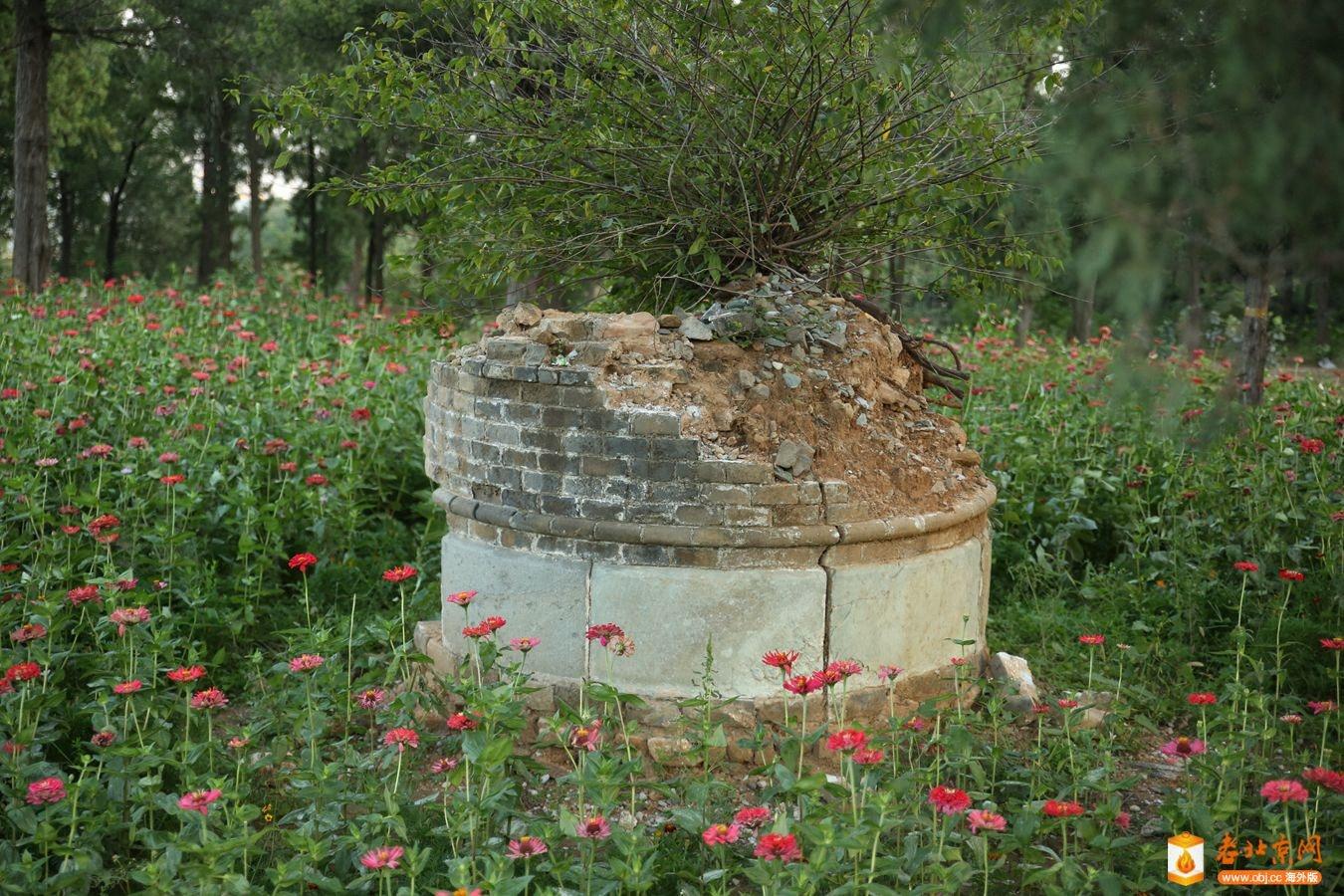 香山南河滩的一处宝顶,不知是何人之墓