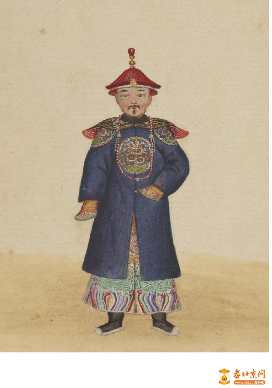 清国京城市景风俗图.Les Rues de Pékin.2册.19世纪_page10_image1a.jpg