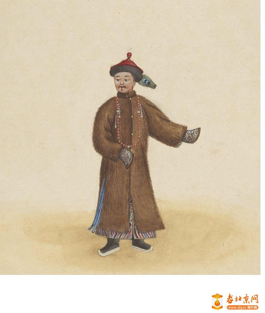 清国京城市景风俗图.Les Rues de Pékin.2册.19世纪_page20_image1a.jpg