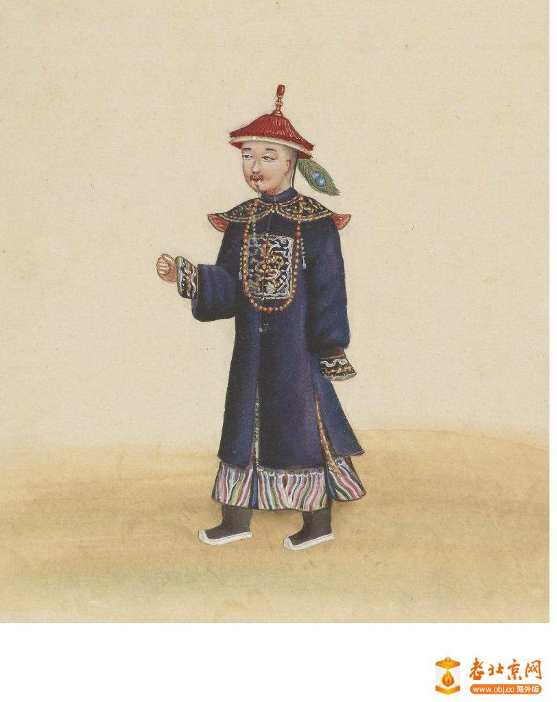 清国京城市景风俗图.Les Rues de Pékin.2册.19世纪_page22_image1a.jpg