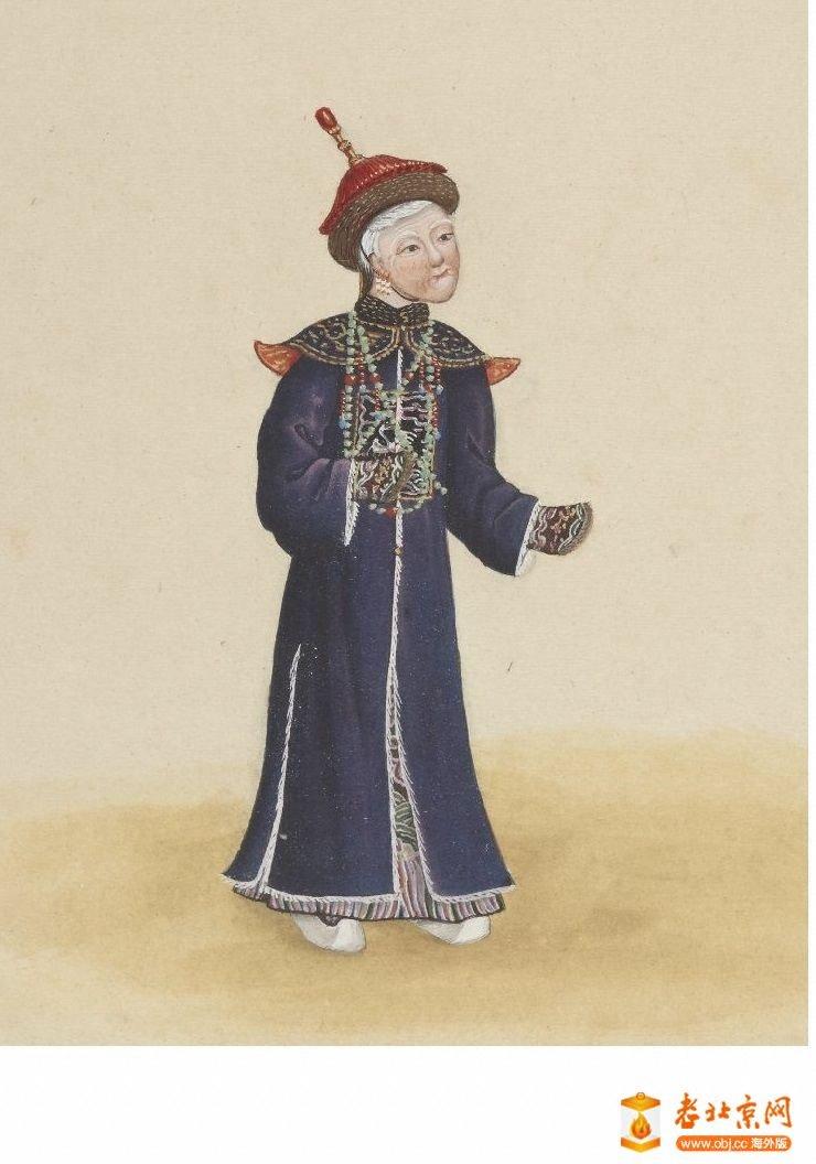清国京城市景风俗图.Les Rues de Pékin.2册.19世纪_page27_image1a.jpg
