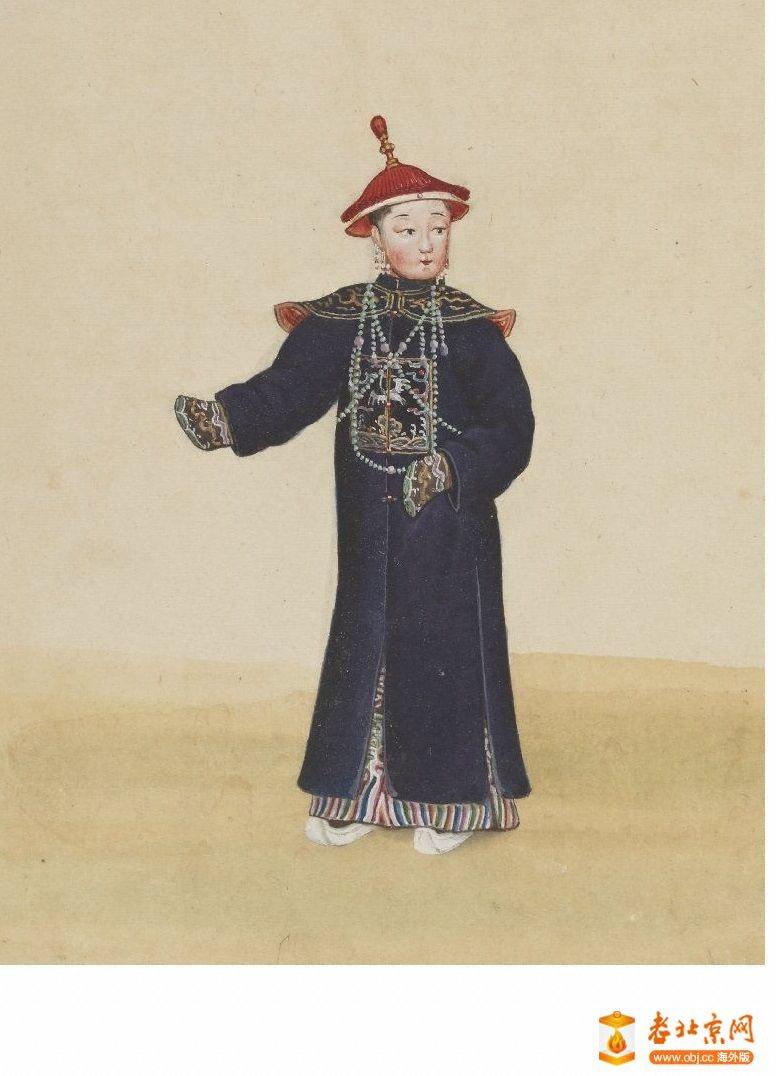 清国京城市景风俗图.Les Rues de Pékin.2册.19世纪_page29_image1a.jpg