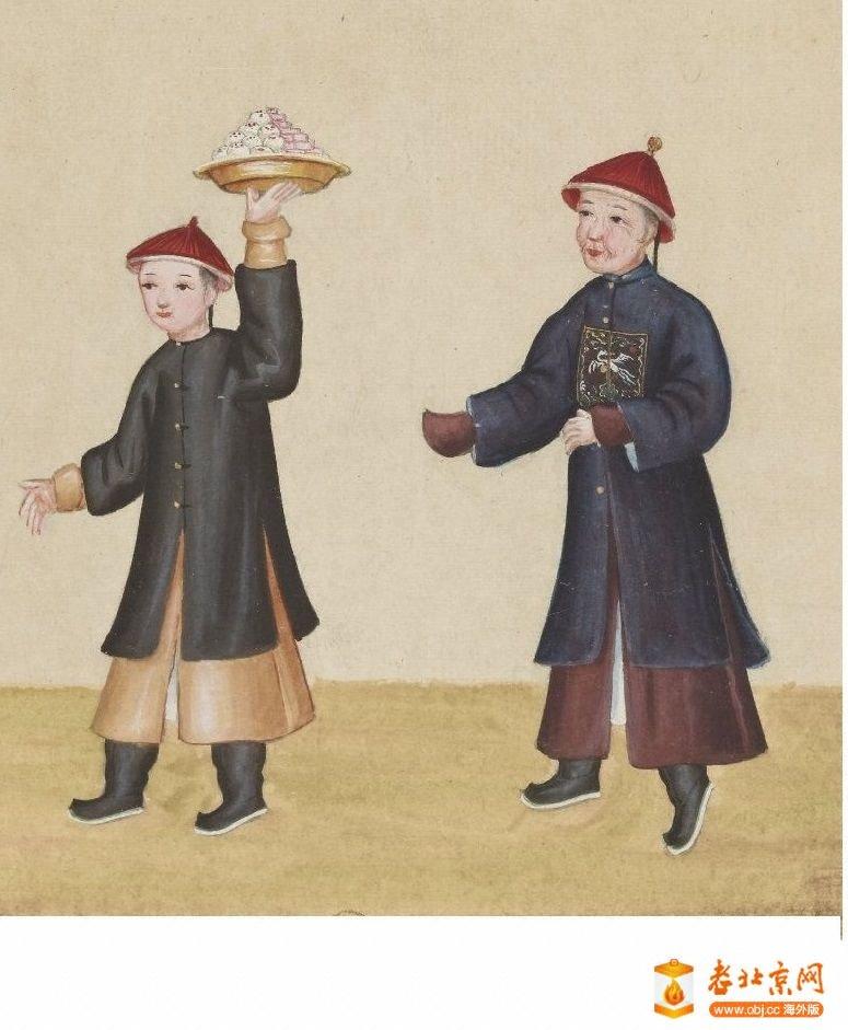 清国京城市景风俗图.Les Rues de Pékin.2册.19世纪_page31_image1a.jpg
