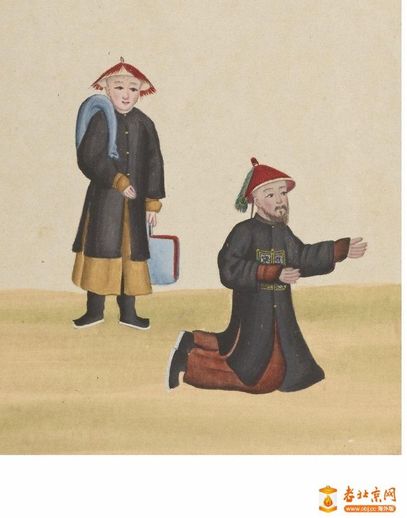 清国京城市景风俗图.Les Rues de Pékin.2册.19世纪_page33_image1a.jpg