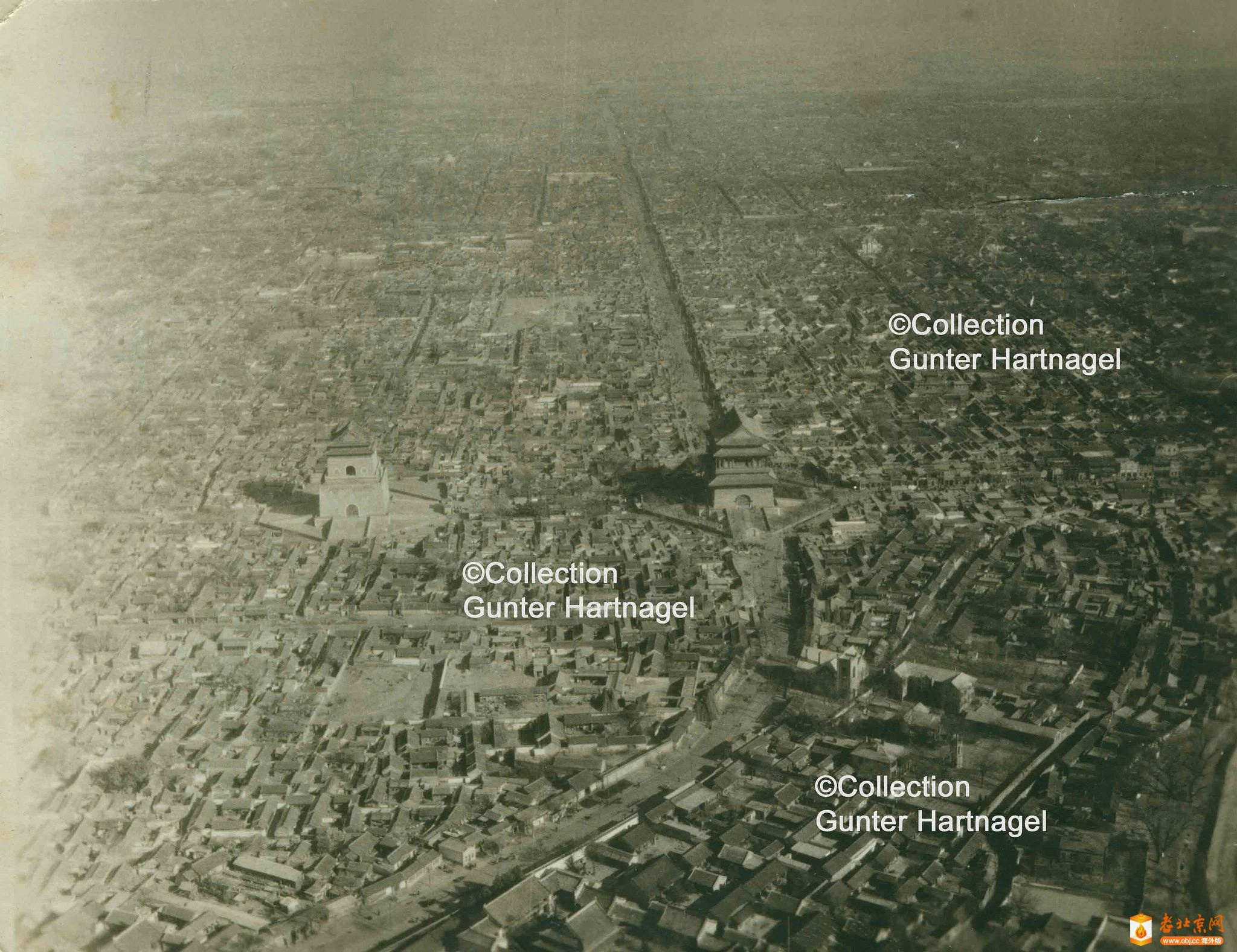 北京城航拍(1945)