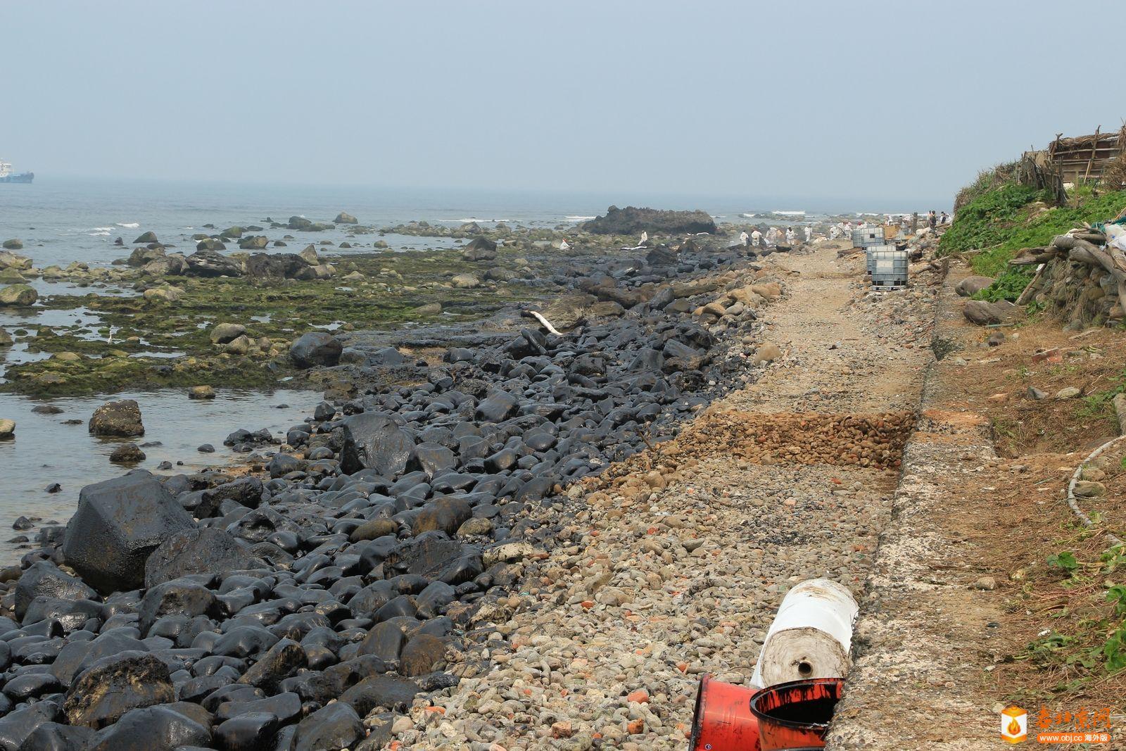 被汙染的海岸