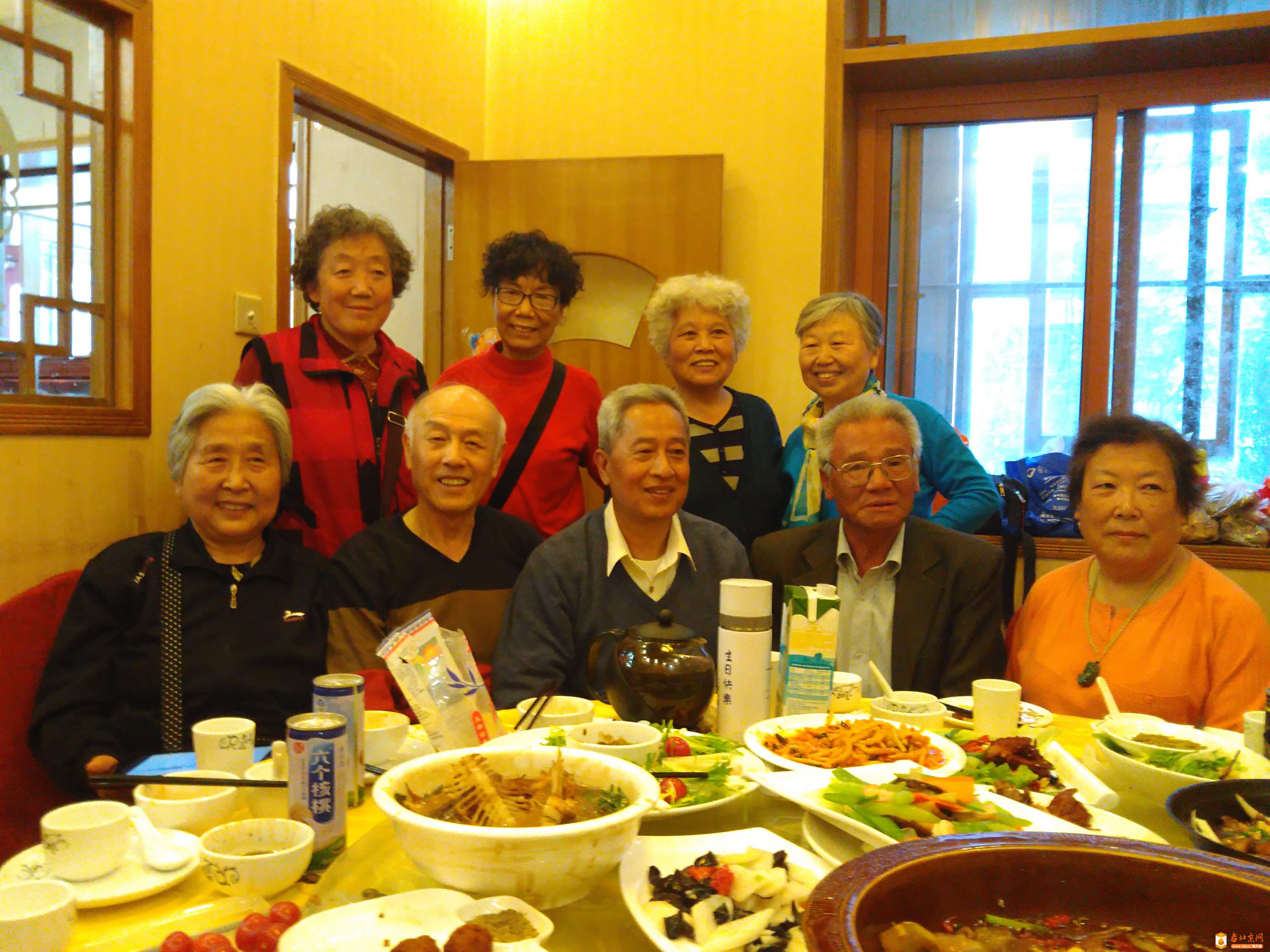 8280班部分同学在北京聚会
