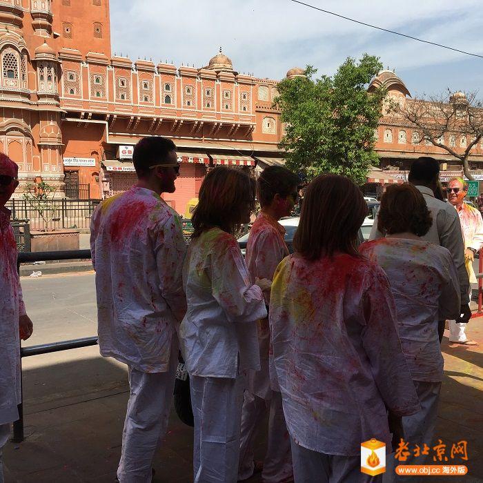 印度金三角之旅-撒红节与红堡