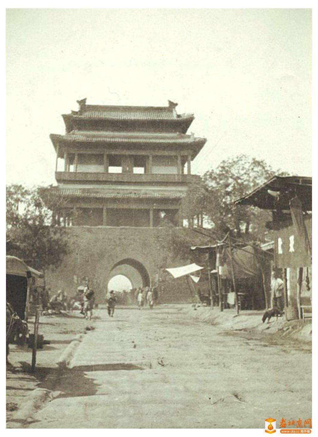 【探讨】Didrik 老北京照片系列(06):广安门城楼内侧