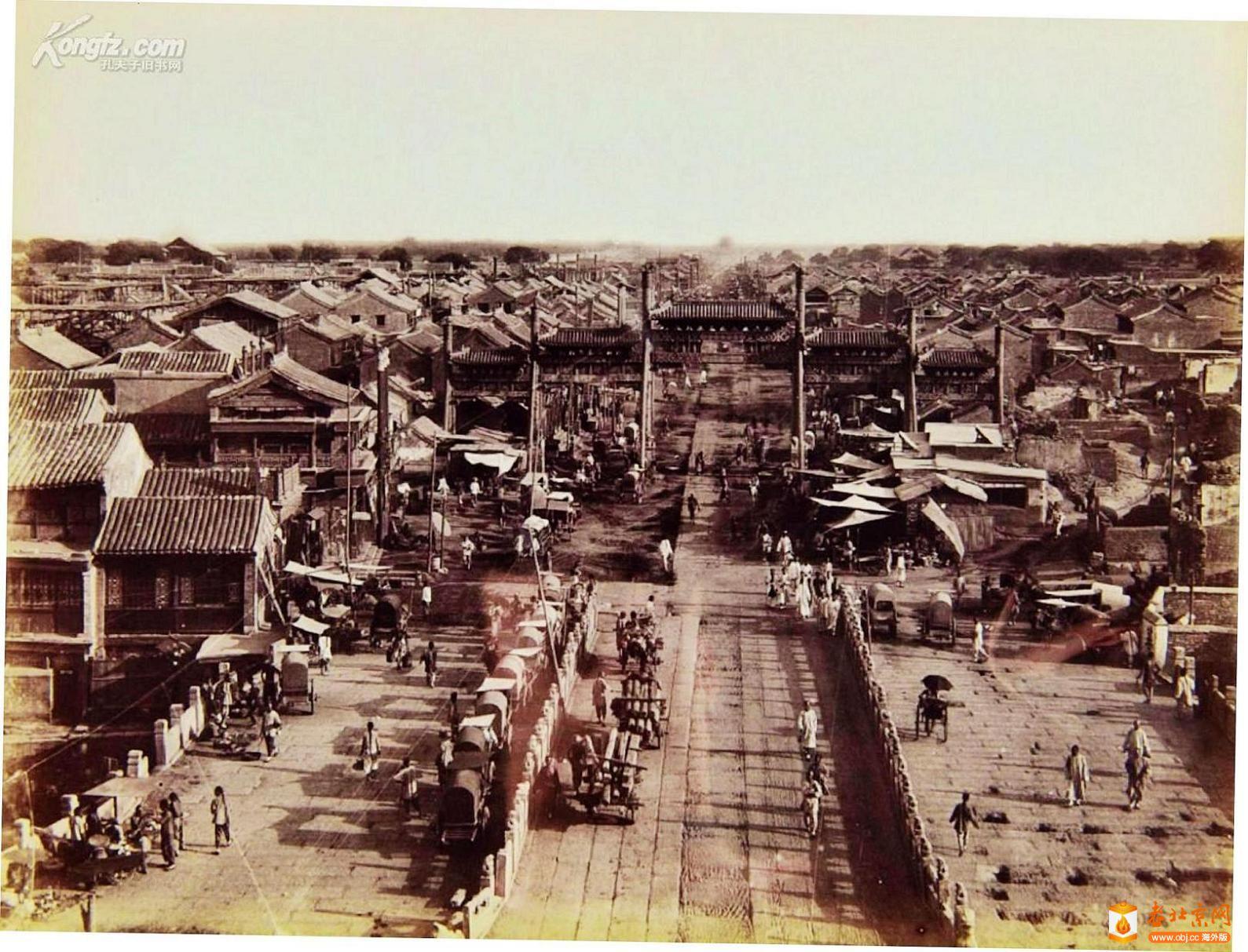125.正阳桥牌楼-17     (1901年议和后).jpg