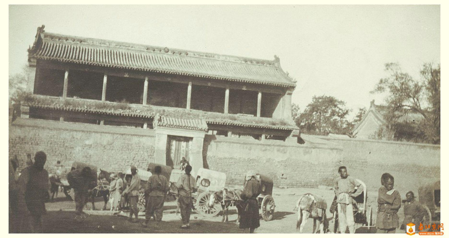 【探讨】Didrik 老北京照片系列(09):再议两张待考罩楼和汉白玉石桥照片