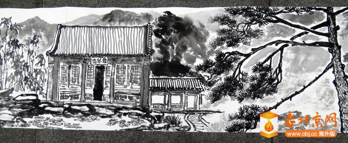 6月20号到香山公园去写生