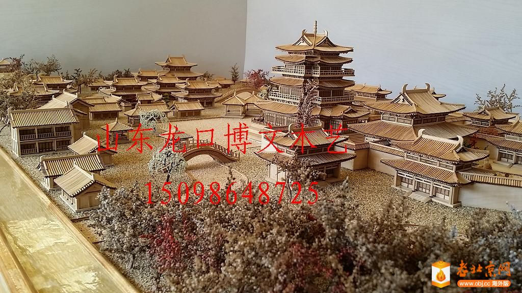北京月季博物馆艮岳模型微缩景观沙盘制作厂家提供图片欣赏