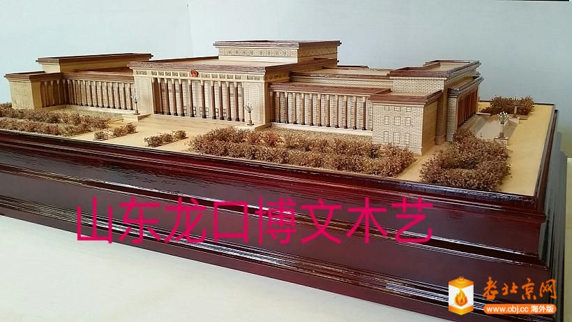 北京故宫天安门古建筑模型,博物馆微缩景观沙盘,园林场景复原规划类别展示