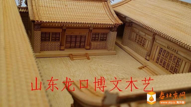 北京韵味各种木制微缩袖珍模型欣赏