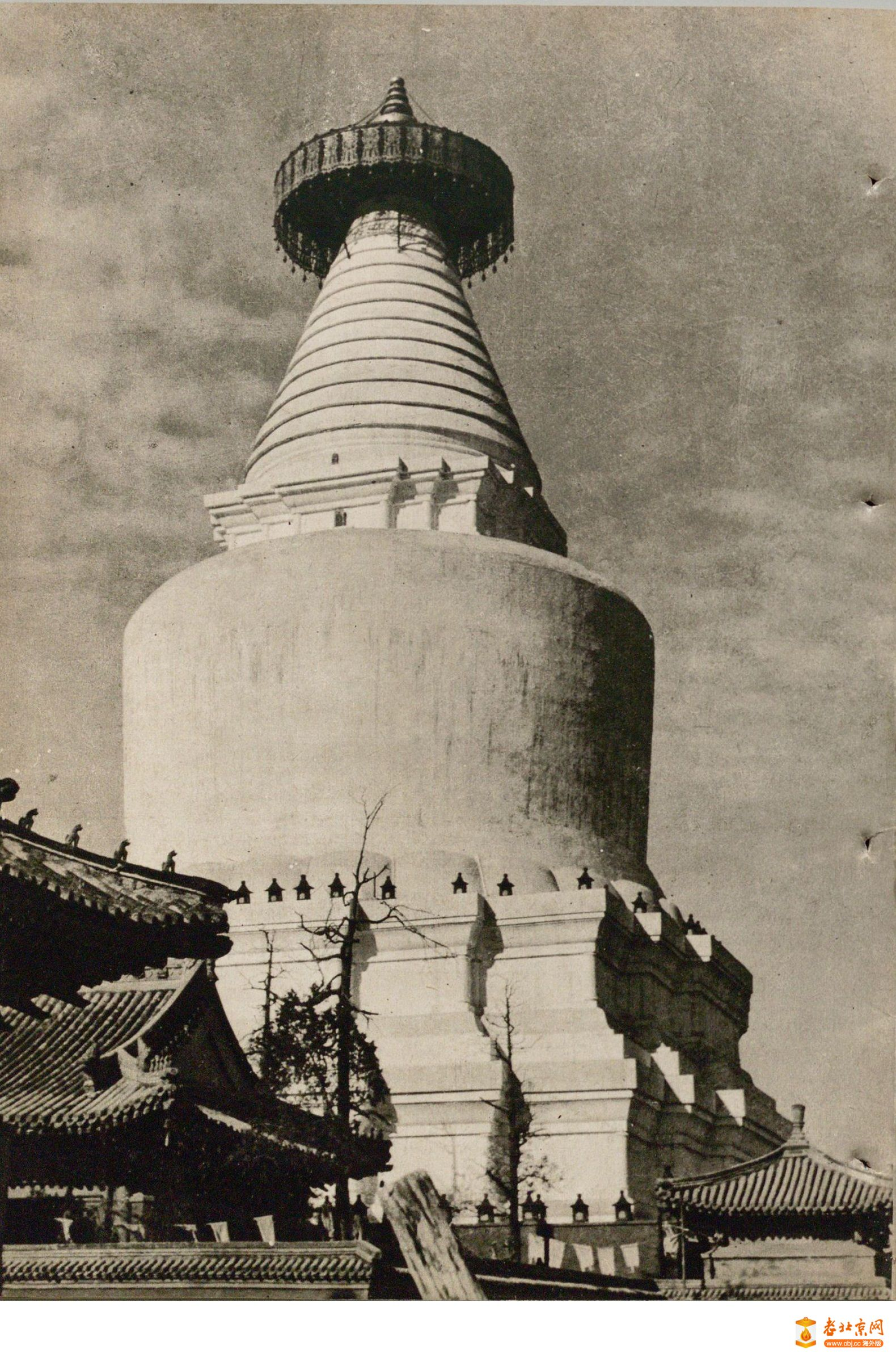旧时的白塔寺庙会