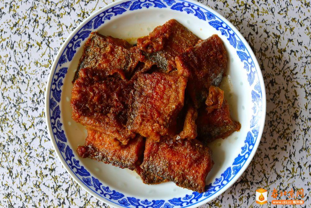 今天午餐的家常菜五十五——炸素三角等
