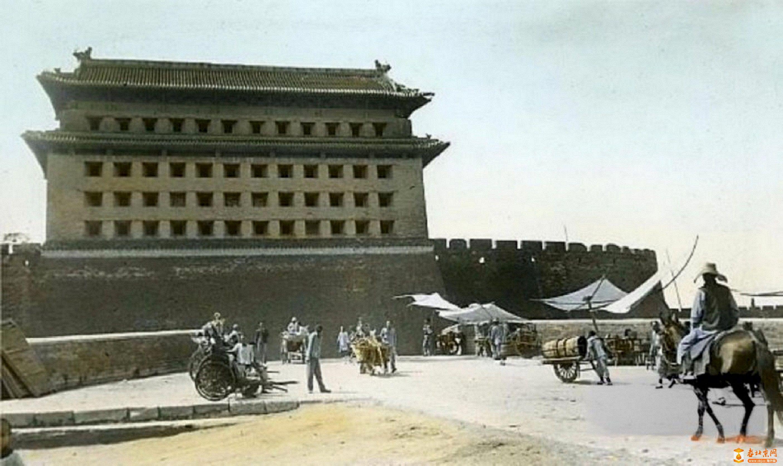 933.安定门-箭楼                    (1912年?).jpg