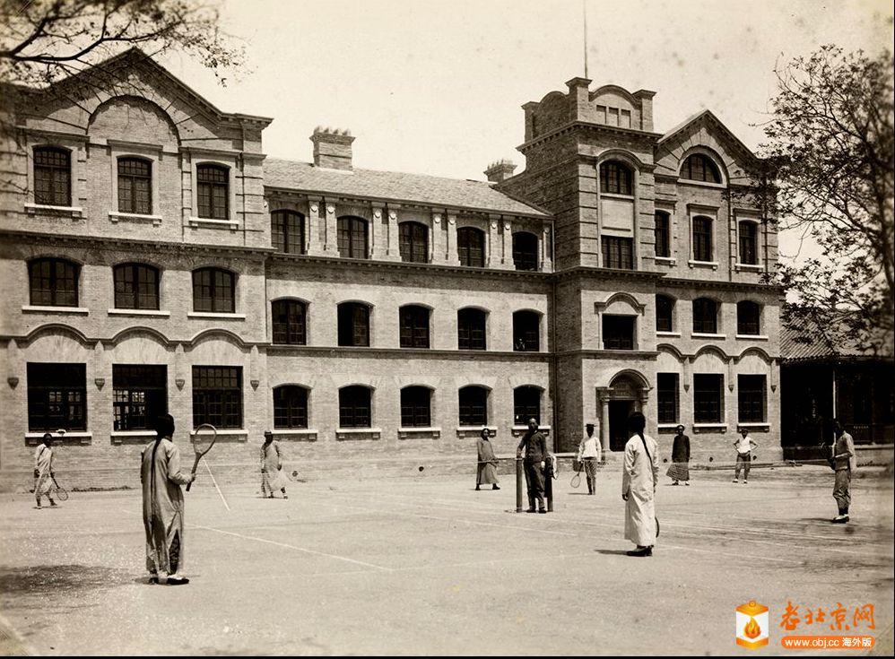 mx04-038 网球场在北京协和医科大学,北京 1905年.jpg