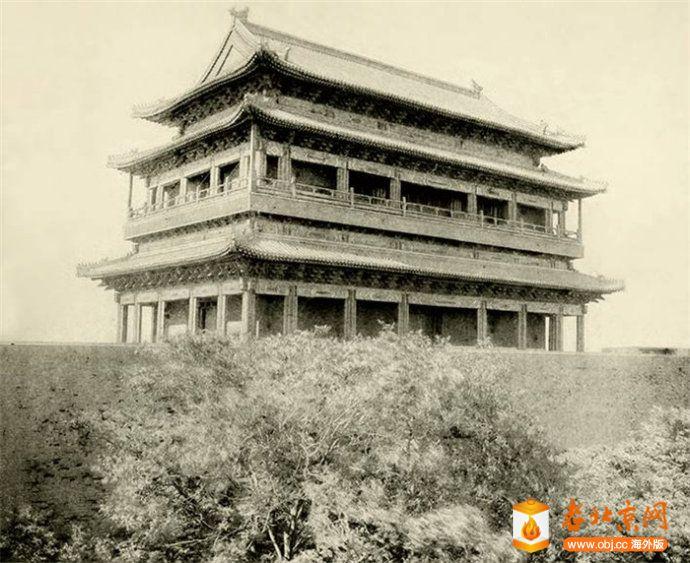 顺治门(宣武门)重修复的城楼.jpg