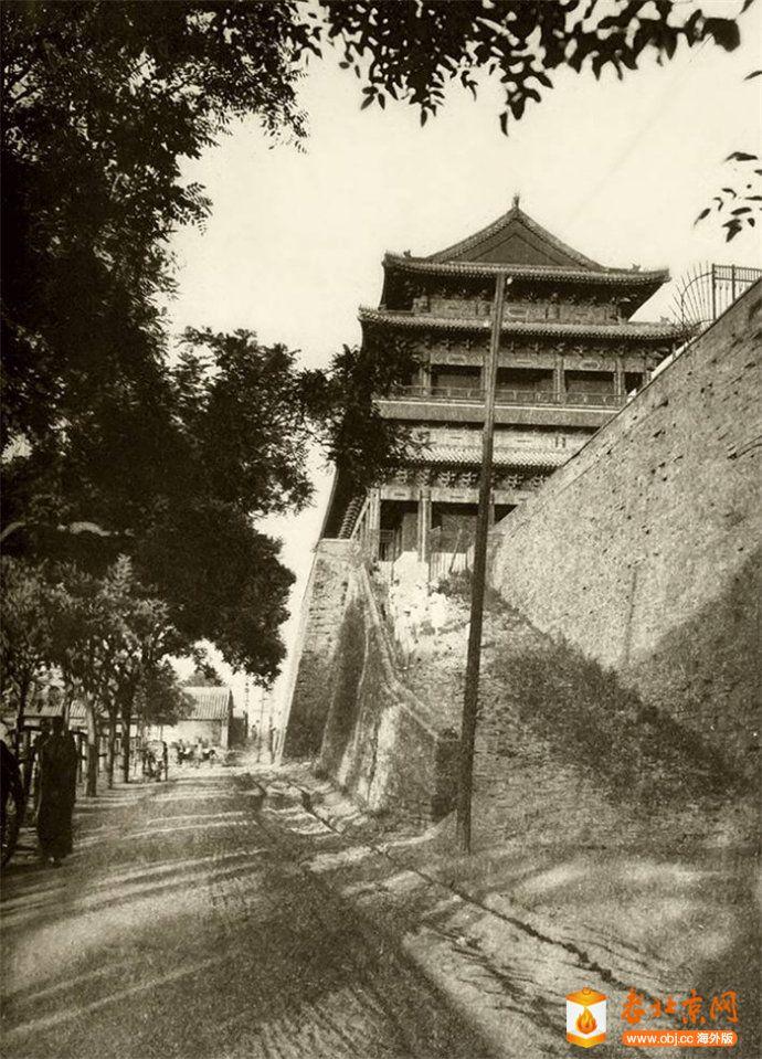 哈德门(崇文门)城楼西面侧景.jpg