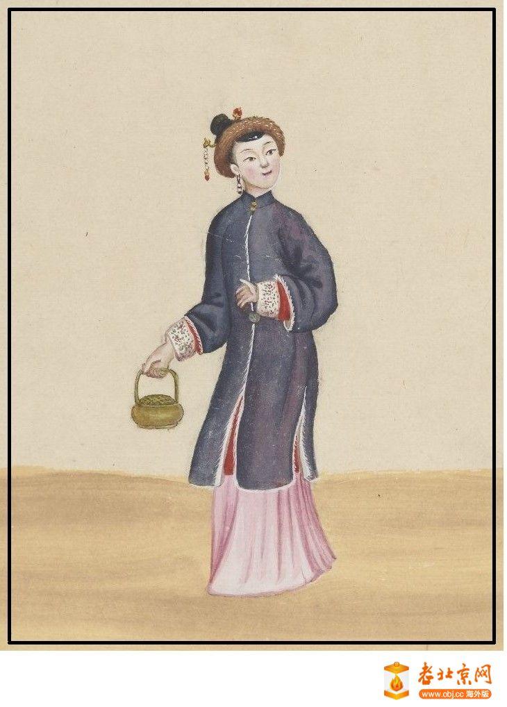 清国京城市景风俗图.Les Rues de Pékin.2册.19世纪_page85_image1a.jpg